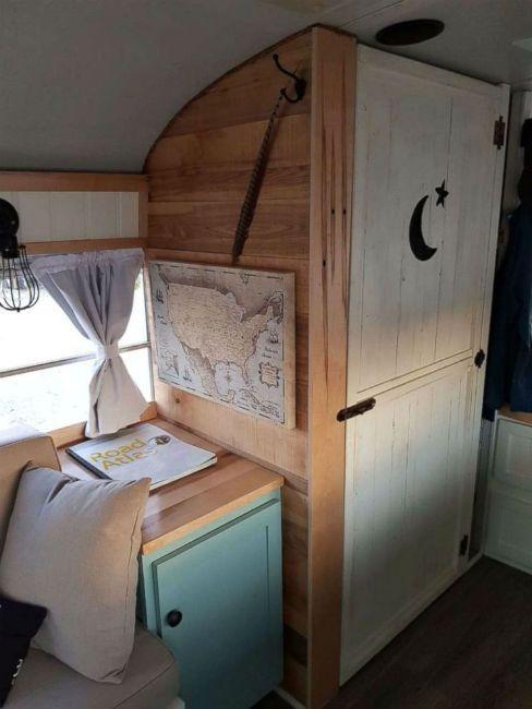 Bus tiny home