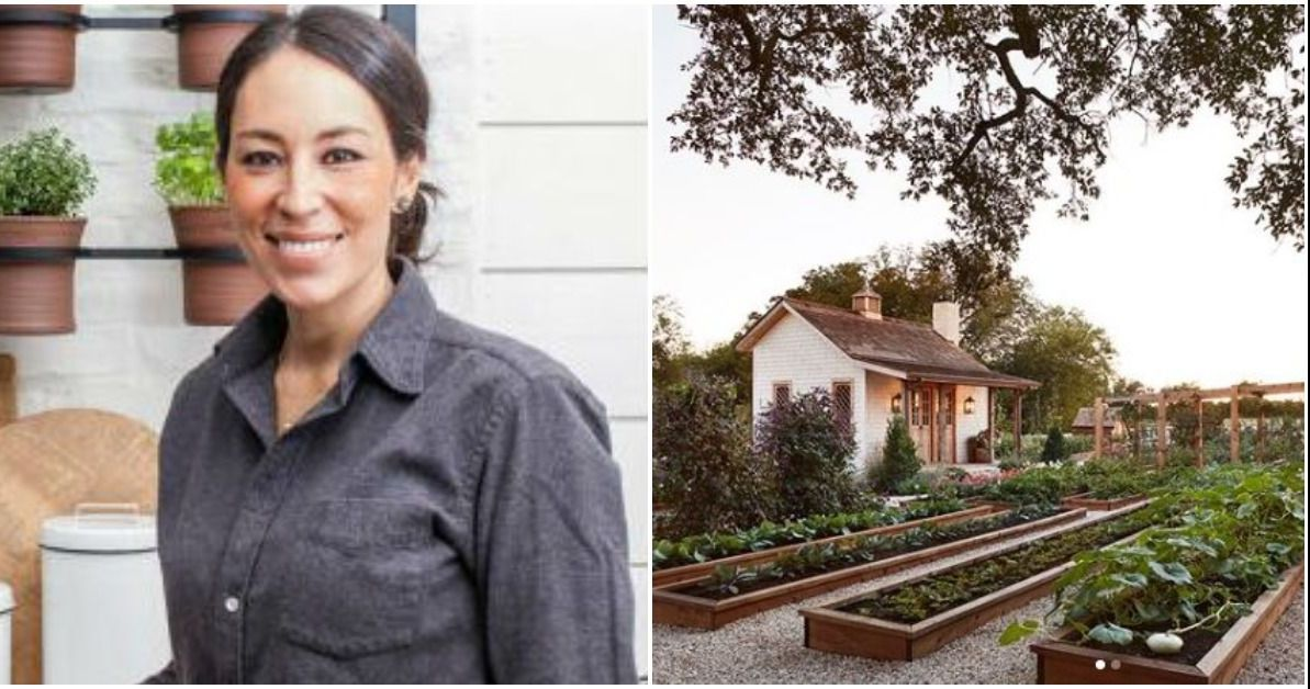 Joanna Gaines Stylish Garden Will Make You Green With Envy