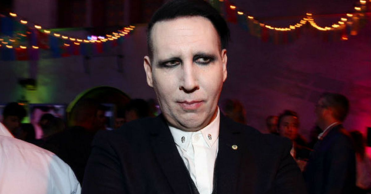 Marilyn Manson collapses during Texas concert