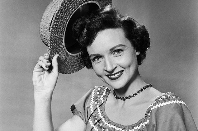 Betty White in 1954