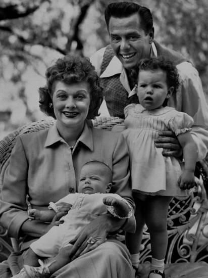 Lucy, Desi and their family