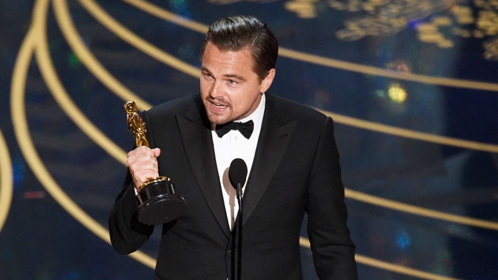 Leonardo DiCaprio's acceptance speech