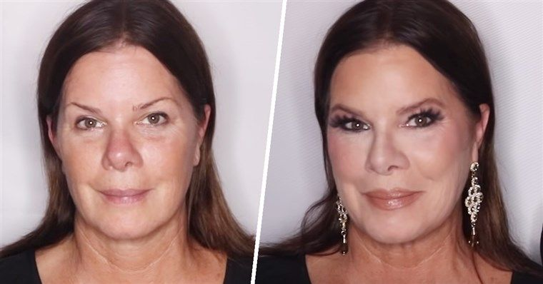 Marcia's before and after