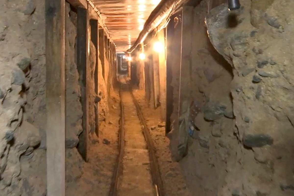 The California tunnel