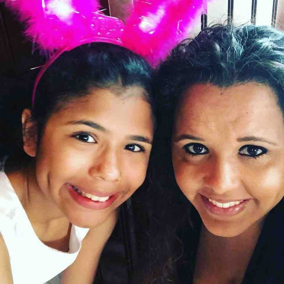 Aileen and her daughter