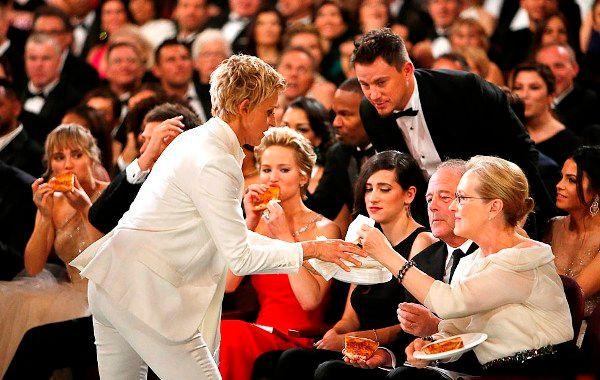 Ellen pizza oscars
