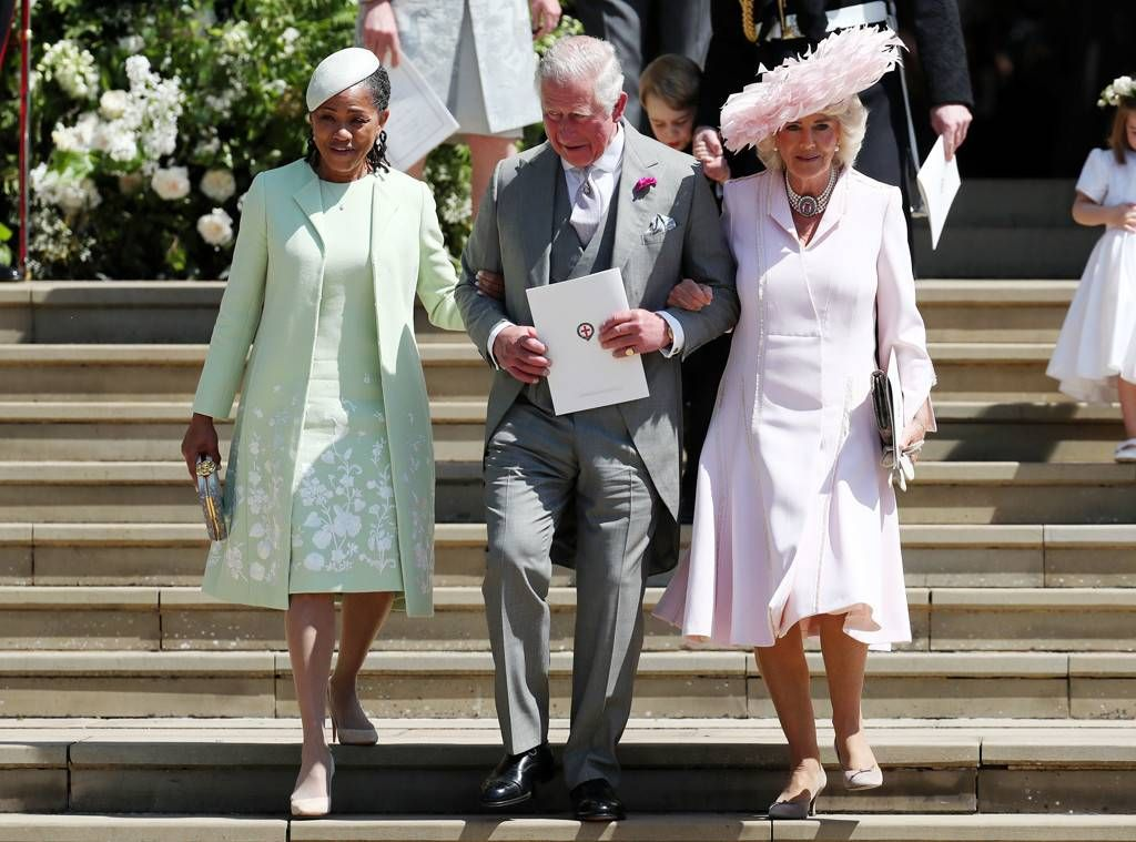 Doria, Prince Charles and Camilla