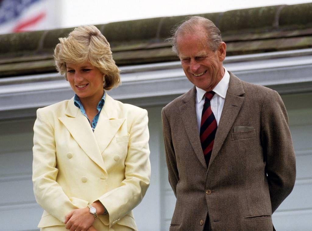 Princess Diana and Prince Philip