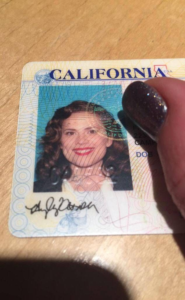 Hayley Atwell license