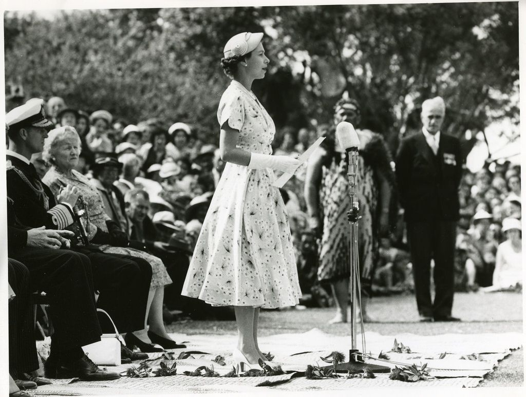 Queen Elizabeth II in New Zealand
