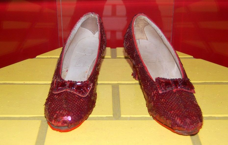 fc4000b2a051 FBI Find The Ruby Slippers That Were Stolen 13 Years Ago