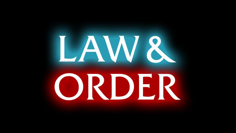 Law & Order sign