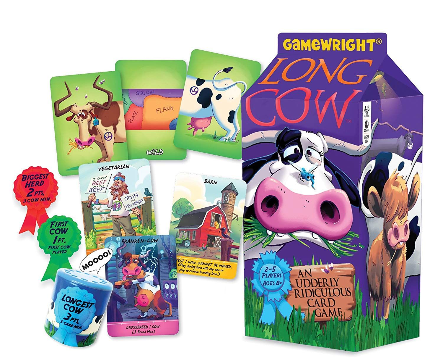 Long Cow card game