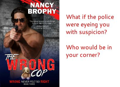 """""""The Wrong Cop"""" front cover"""