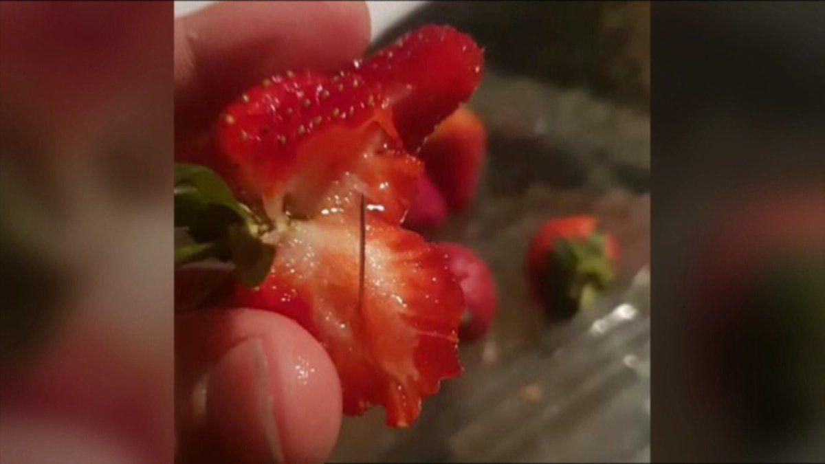 strawberry needles