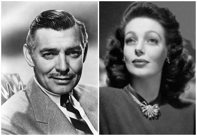 Clark Gable and Loretta Young.