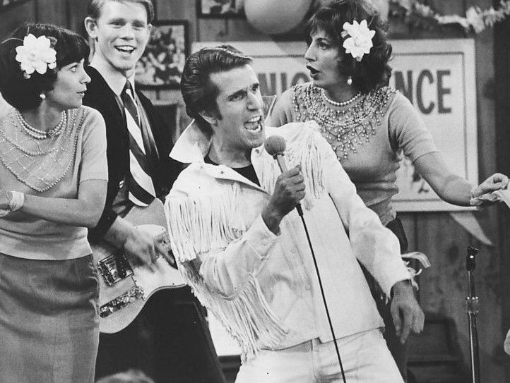"Henry Winkler in ""Happy Days"""