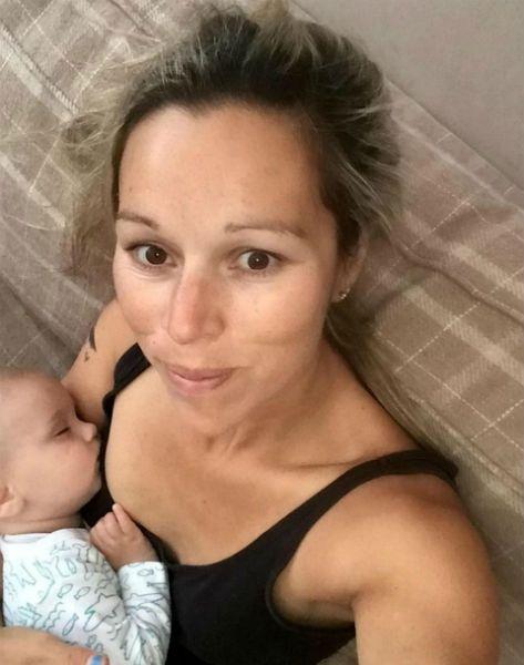 Breastfeeding flight