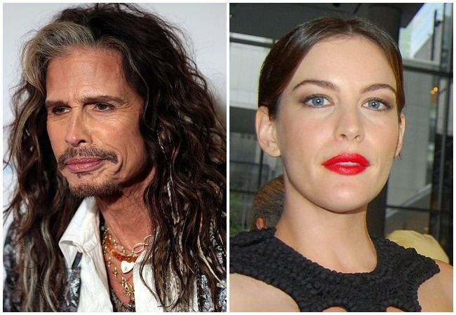 Steven Tyler and Liv Tyler