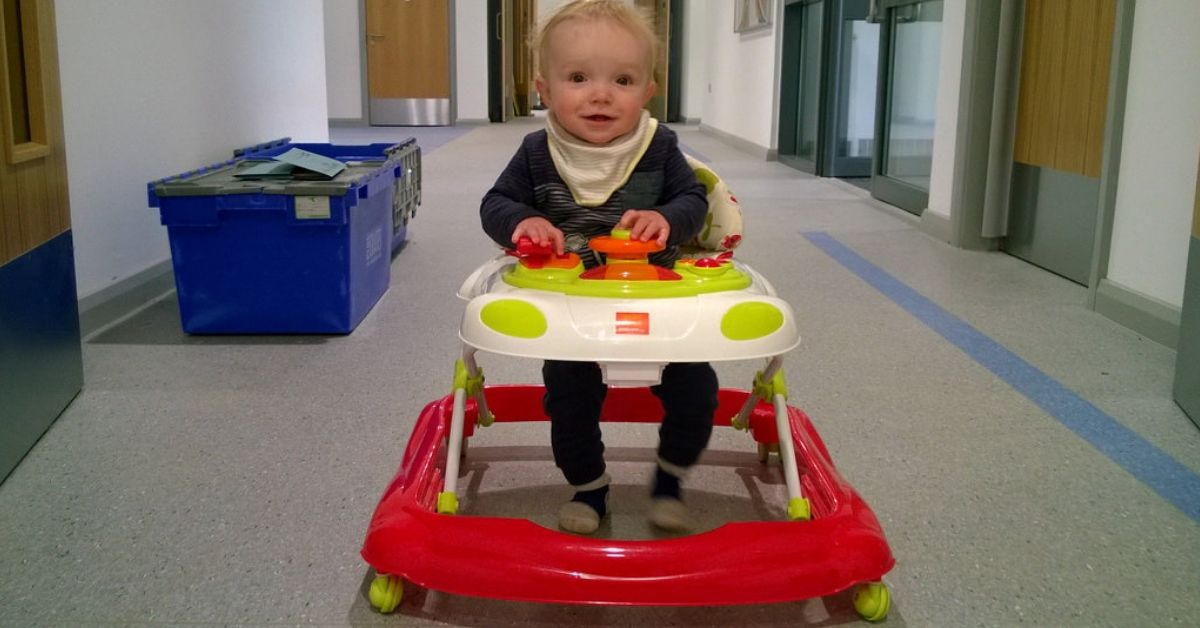 Calls to ban iconic '70s-style baby walkers after numerous injuries