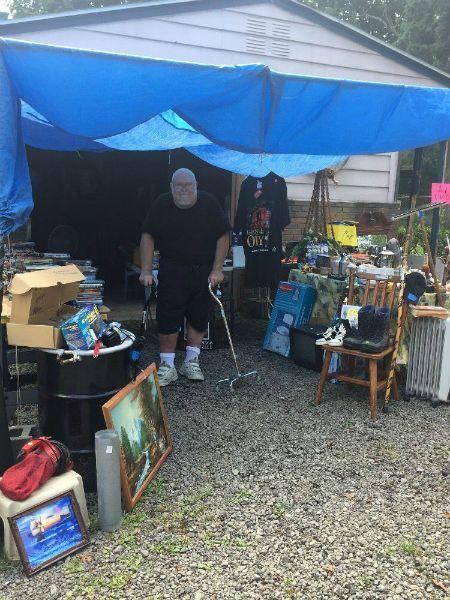 Navy Veteran Yard Sale