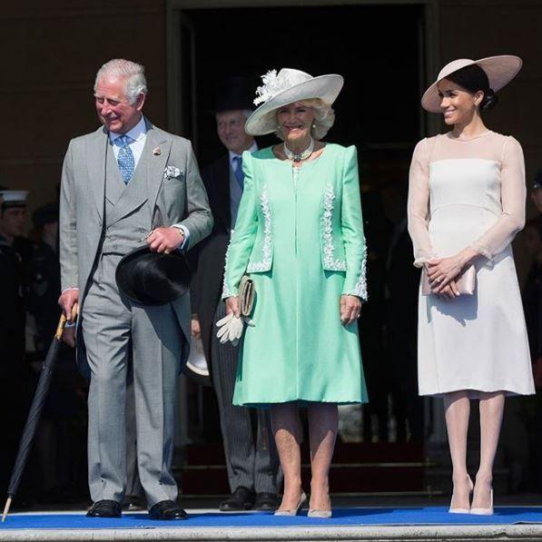 Prince Charles, Camilla, and Meghan