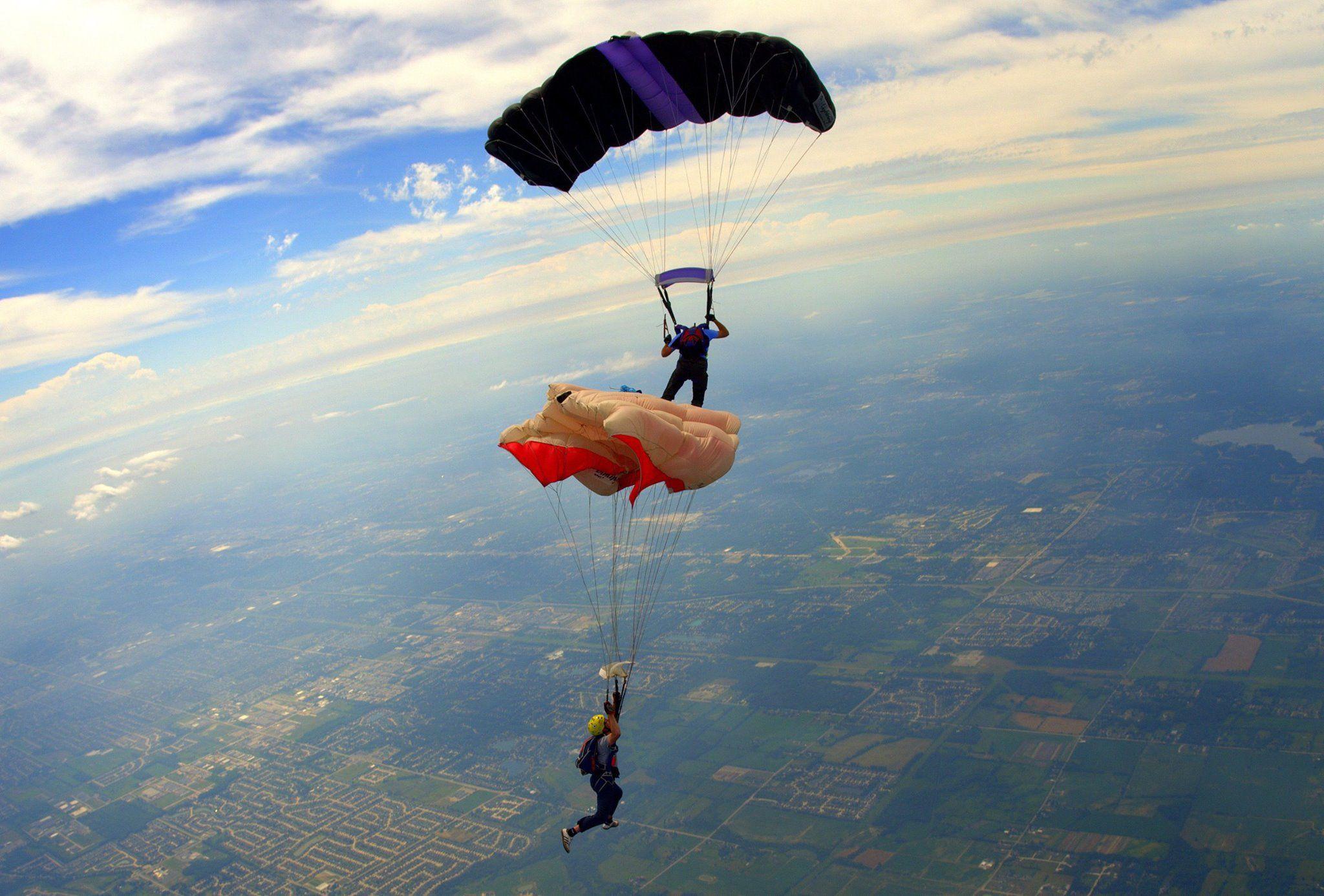 Parachuting barred in Florida