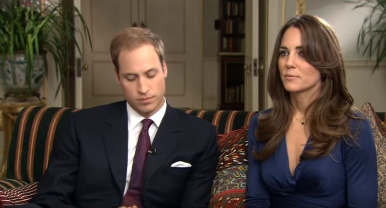 William and Kate's 2010 interview