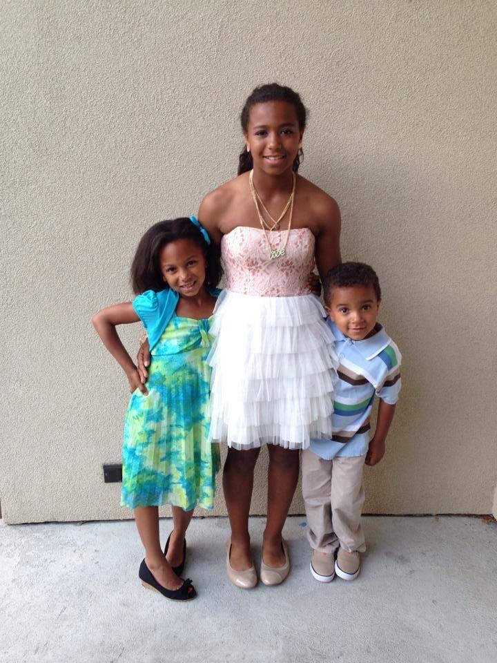 Koeberle Bull's three children.