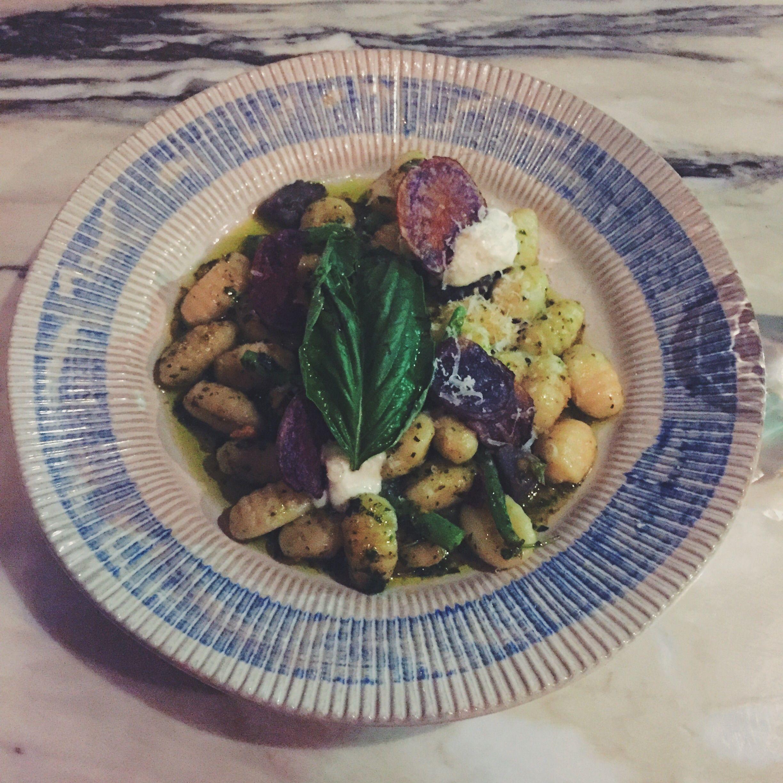 Gnocchi dish from Jamie's Italian