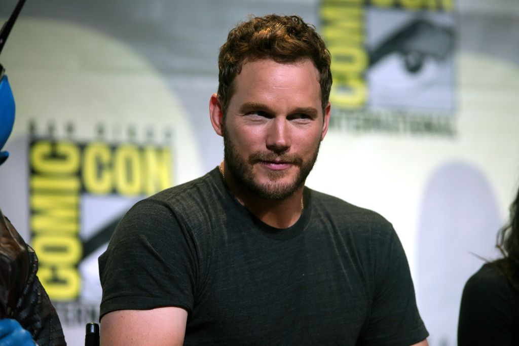 Chris Pratt at the 2016 San Diego Comic Con