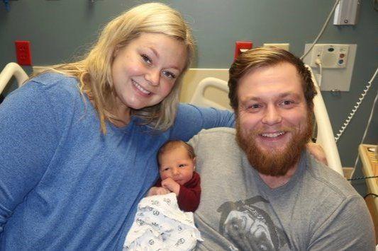 Goette Family in hospital
