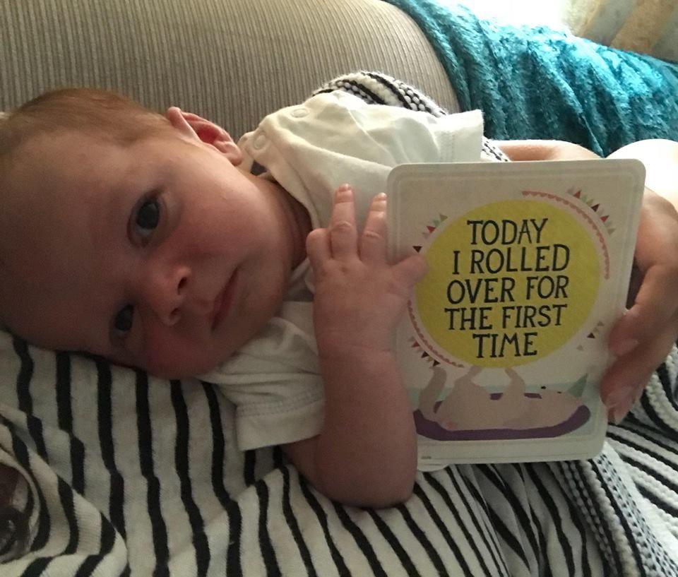 Baby Ezra Upton.