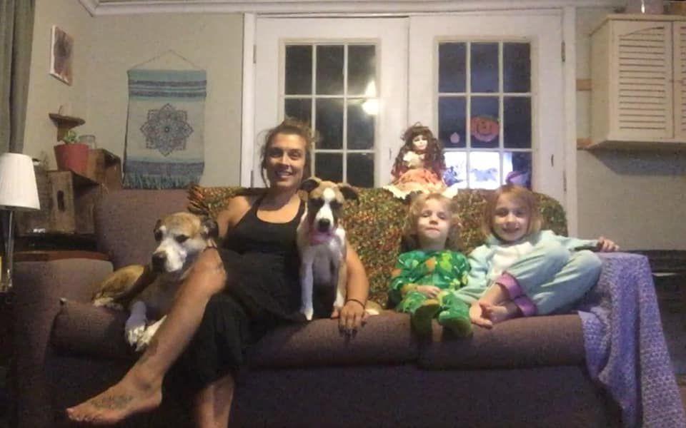 Krystah Wright family