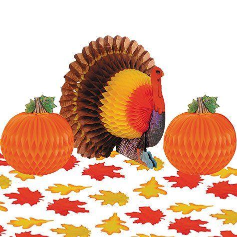 Thanksgiving Table Decorating Kit
