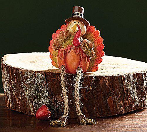 Pumpkin Turkey Resin Shelf Sitters