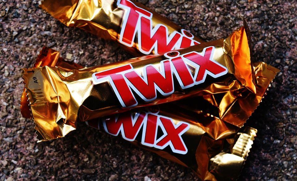twix chocolate bars