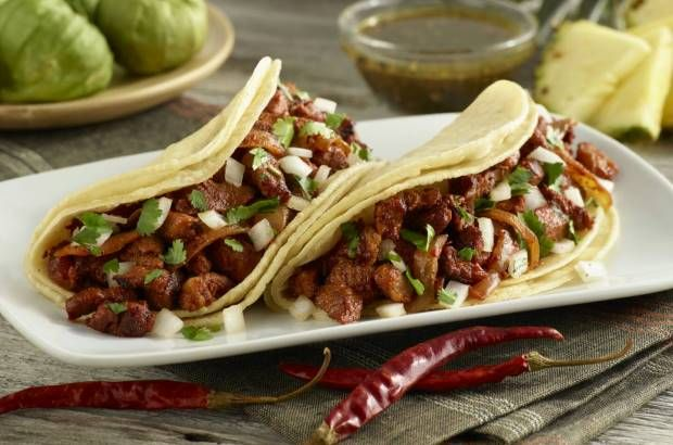 Beef tacos from Chronic Tacos
