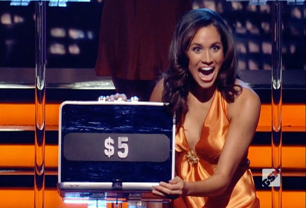 "Meghan Markle was a model on the game show ""Deal or No Deal"""