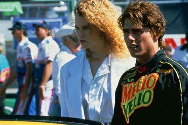 Days of Thunder Nicole Kidman and Tom Cruise
