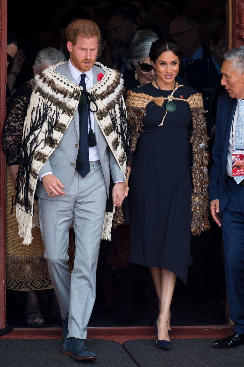 Harry and Meghan in New Zealand