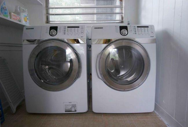 Dryer washing machine