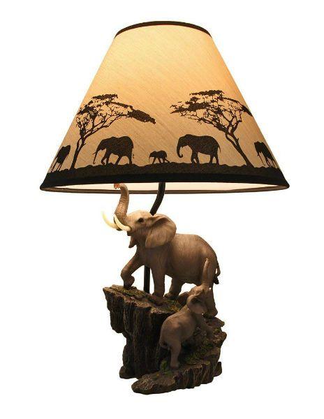 Elephant Statue Lamp