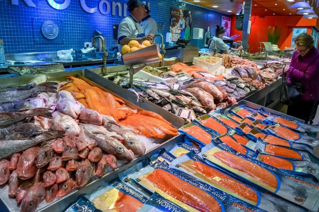 Fish grocery store