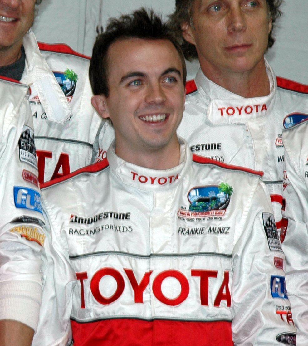 Frankie Muniz at the 2011 Toyota Grand Prix Celebrity Race.