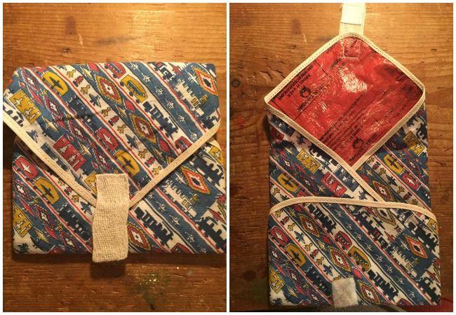 Fused plastic bags