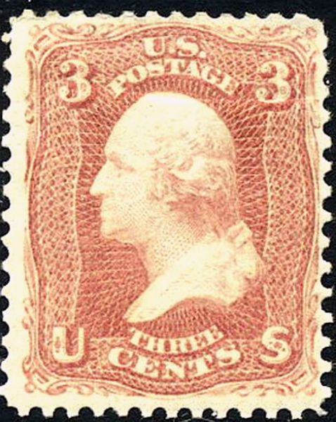 George Washington 1867 Stamp