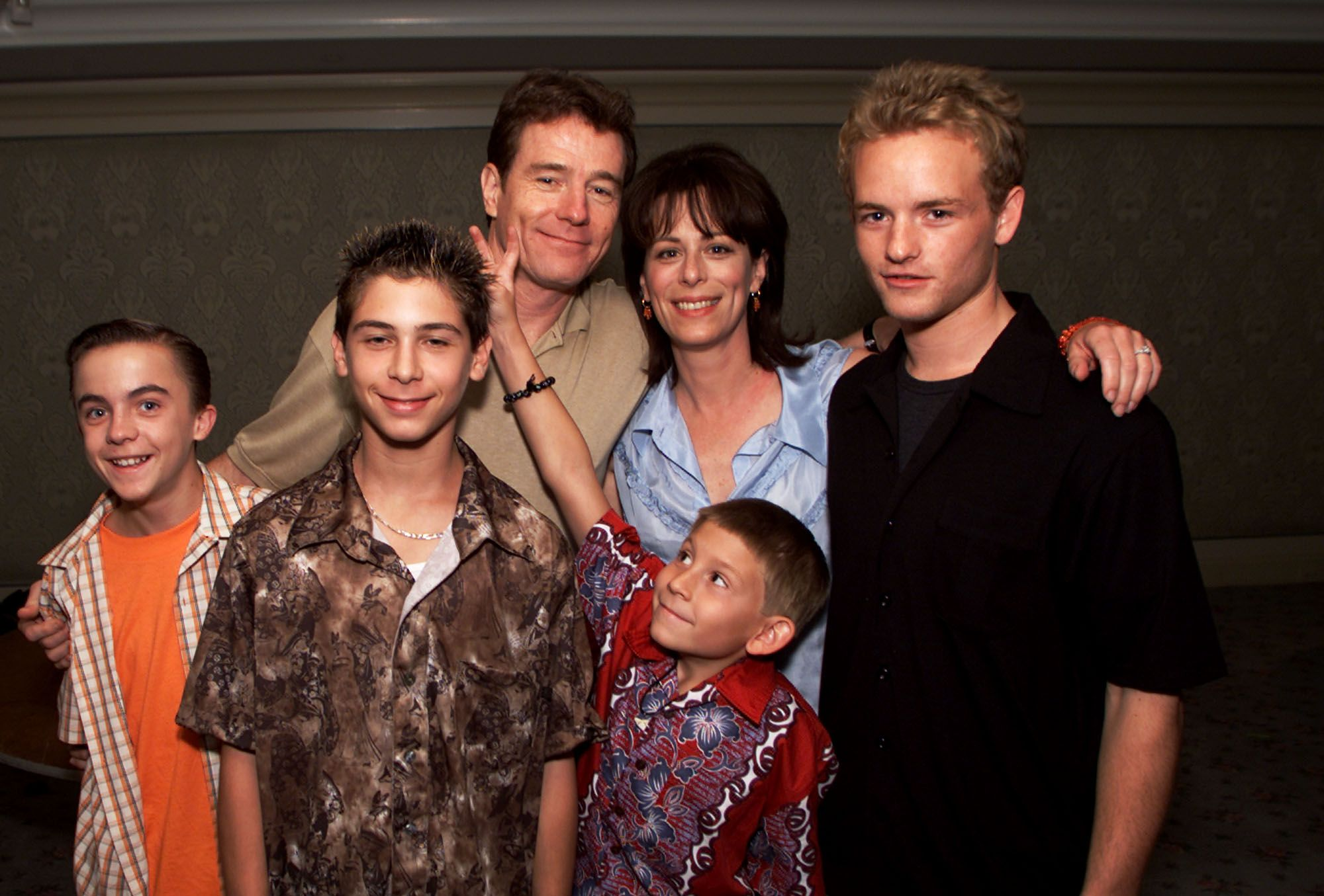 Frankie Muniz and his 'Malcolm in the Middle' costars