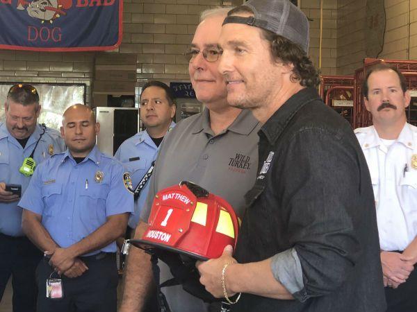 Houston Fire Department McConaughey