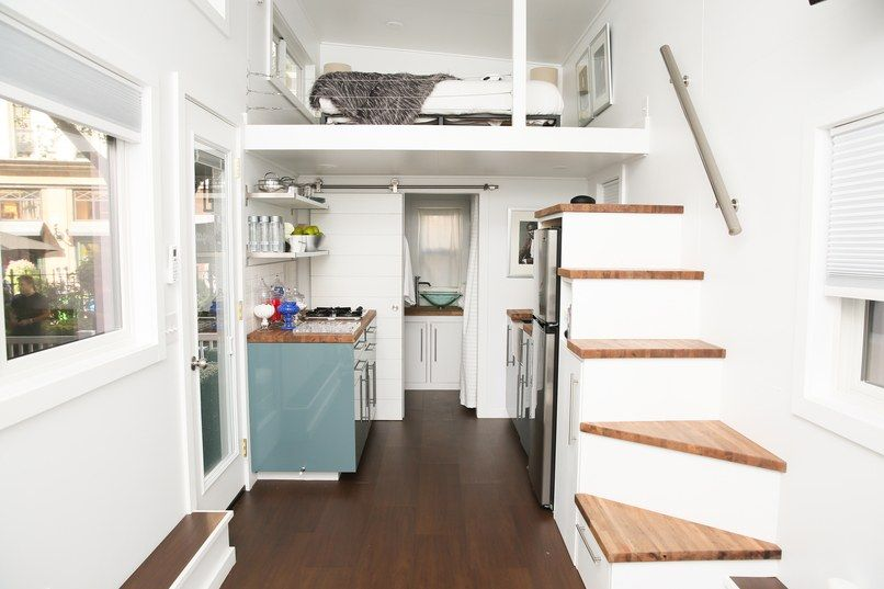 Hallway tiny home